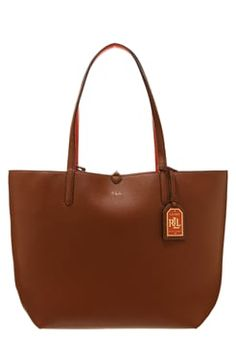 Lauren Ralph Lauren OLIVIA  - Tote bag - bourbon/sunkist £135.00 # #relevant #ReviewsClothing