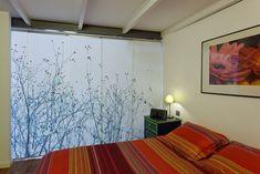 Sliding Panel Curtains | Japanese-style curtain made of sliding panels custom designed for ...