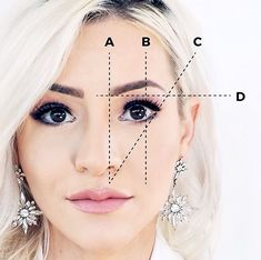 Eyebrow mapping This is important, y'all! Your eyebrows are the frame for your whole face.jessfa… in 2020 Beauty Tips Eyebrows, Diy Eyebrows Makeup, Mircoblading Eyebrows, Eyebrow Makeup Products, Beauty Hacks Eyelashes, How To Draw Eyebrows, Hair Makeup, Tattooed Eyebrows, Shape Eyebrows