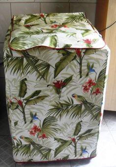 capa p lavadora de roupas Diy Cape, Washing Machine Cover, Appliance Covers, Diy Pillows, Baby Shower, Quilts, Blanket, Sewing, Crochet