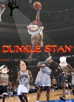"ara-knee-a: "" dunk the hunk grunk """