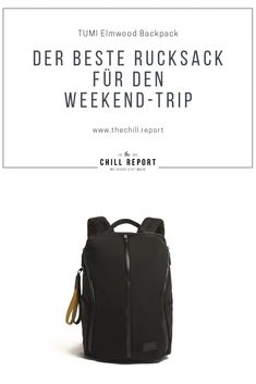 Rucksack für den Wochenendtrip - The Chill Report Weekender, Den, Traveling, Backpacks, Bags, Accessories, Awesome Backpacks, Travel Tote, Travel