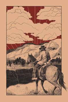 A non-profit zine for the Red Dead Redemption series Dead Red Redemption 2, Read Dead, Cowgirl And Horse, Billy The Kids, Human Art, Country Art, Western Art, Wild West, Cool Art