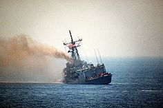 The USS Stark incident occurred during the Iran–Iraq War on May 17, 1987, when an Iraqi jet aircraft fired missiles at the American frigate USS Stark. Thirty-seven United States Navy personnel were killed and twenty-one others were wounded. The Iraqi government later apologized for the attack.