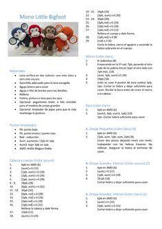 kweet et ni meer Crochet Monkey Pattern, Crochet Animal Patterns, Crochet Bear, Crochet Patterns Amigurumi, Cute Crochet, Crochet For Kids, Crochet Animals, Crochet Crafts, Crochet Dolls