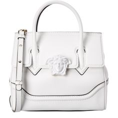 Versace Palazzo Empire Medium Medusa Leather Satchel ( 1,700) ❤ liked on Polyvore  featuring bags 5506ccca77