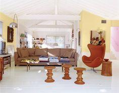 Brown Living room
