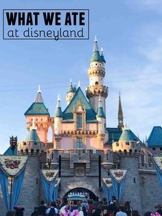 What we ate at Disneyland - sweet and savory and everything in between! Covering food in Disneyland and in California Adventure.