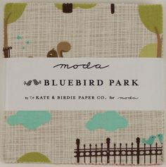 BlueBird Park Charm Pack by LHMaterials on Etsy, $7.00