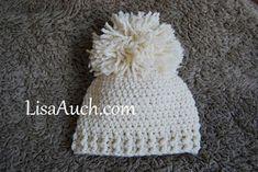 Page full of free Crochet Baby Hat Pattern - (Free Crochet Patterns)