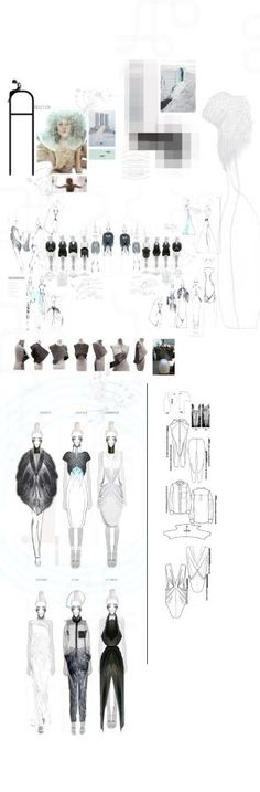 Fashion Sketchbook - fashion drawings; fashion design development; fashion portfolio // Felicity Bradshaw