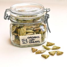 Your feline will warm up to you even more with these organic cat treats. Photo: Sarah Lipoff