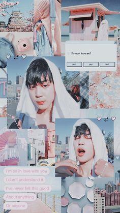 지민 : Do you love me? Bts Jimin, Bts Bangtan Boy, Bts Wallpapers, Bts Backgrounds, Makeup Wallpapers, Boy Scouts, K Pop, Vaporwave Anime, Whatsapp Wallpaper