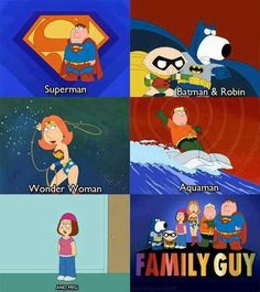 Tv shows affects the lives and the decisions that you meet. (Family Guy)