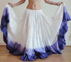 "Long 25 Yard 4 Tier Skirt Belly Dance Gypsy Skirt 39"" | eBay"