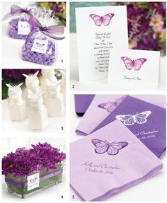Butterfly Wedding Themes: All A Flutter!