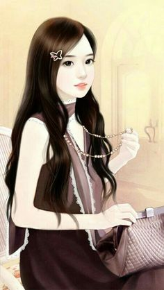 Shared by Geya Shvecova. Find images and videos about girl, korean and still on We Heart It - the app to get lost in what you love. Lovely Girl Image, Cute Girl Pic, Girls Image, Cute Girls, Art Anime, Anime Art Girl, Wallpaper Fofos, Art Chinois, Korean Anime
