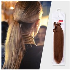 Balmain Balmain Catwalk Pony Tail ($72) ❤ liked on Polyvore featuring accessories, hair accessories, long hair accessories and balmain