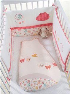 Tour de lit thème Papiflore  - vertbaudet enfant