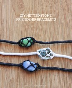 Netted Up Jewelry Making Tutorials