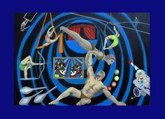 El circo de la vida - Óleo sobre tela - 120x80 #Artwork #drawing #painting