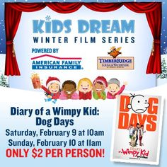 Looking for something to do this weekend, but don't want to break the bank?  How about a movie?      http://www.amfam.com/kidsdream/?soc=fb_corp_gen_20135688174?sourceid=PIN_EVENT_WIMPY1