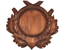 Hunting Trophy Shield Mount Tusks №Р5