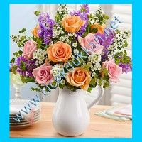 Celebrate Mother's Day 2020 by ordering Mother's Day flowers! Whether mom is near or far, send a Mother's Day flower delivery such as roses, tulips & more. 800 Flowers, Beautiful Bouquet Of Flowers, Wonderful Flowers, Wedding Flowers, Beautiful Roses, Send Roses, Fresh Flowers Online, Mothers Day Flowers, Special Flowers