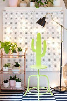 DIY: cactus stool
