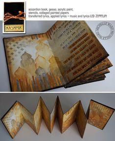 Michelle Ward Kashmir Song Book  Make Stencil?