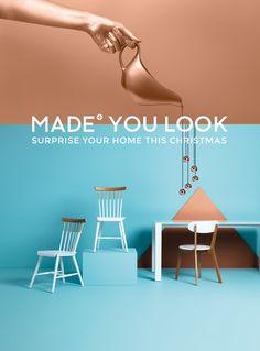 MADE.COM 'Made You Look' Christmas campaign