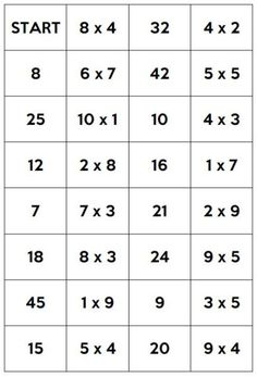 Domino Math Logo, Domino Table, Printing Practice, Multiplication And Division, Math Practices, Basic Math, Cursive, Teaching Math, Fun Learning