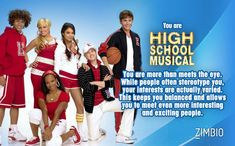 I'm High School Musical! What could be better?! Which Disney Channel Original Movie are you?  - Quiz