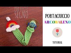 Tutorial - Portaciuccio Arcobaleno - YouTube