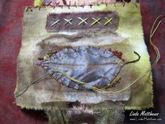 Discover creative techniques and processes for making and using handmade journals and art books, including art journaling, stitched mixed media, painting and collage. Ephemeral Art, Creative Textiles, Handmade Journals, Medium Art, Mixed Media Art, Textile Art, Unique Art, Book Art, My Arts