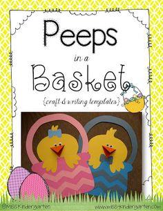 Peeps in a Basket