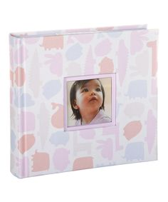 Love this Pearhead Pink Animal Photo Album by Pearhead on #zulily! #zulilyfinds