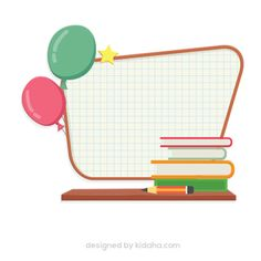 Free whiteboard and balloon education clip arts for kids  Free education clip arts for kids, parents and teachers, free download clipart. File include : Free PNG transparent background and PDF Files