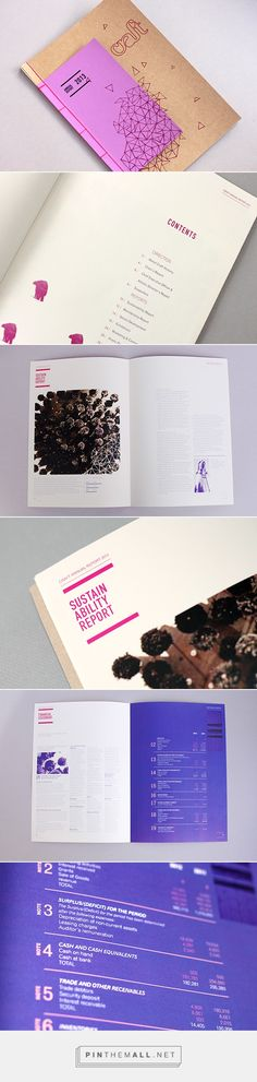Craft Annual Report on Behance - created via https://pinthemall.net