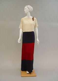 1923 - Poiret. Silk.