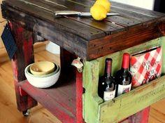 idée sur l'îlot de cuisine par Beyond the picket fence