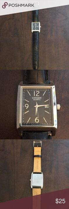 Citizen Watch Maybe worn once. Like new condition. Citizen Accessories Watches