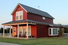 Life in a Little Red Farmhouse: Walk Around the Farm. {future color for my house}