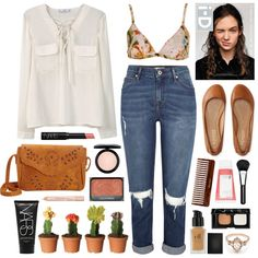 Alasdair by sophiehackett on Polyvore featuring MANGO, Topshop, Aéropostale, Nu-G, BEA, e.l.f., NARS Cosmetics, MAC Cosmetics, Chantecaille and Korres