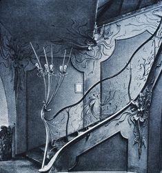 Art Nouveau in Munich, Germany.
