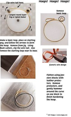 Learn to Make Your Own Beaded Hoop Earrings!