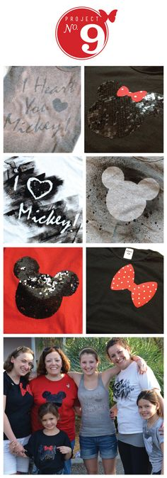 DIY Tshirts Disney Tshirts Mickey Mouse   l  sweet nothings design