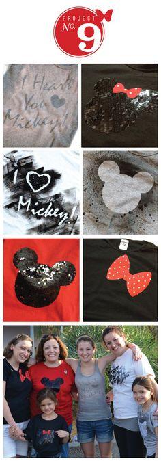 DIY Tshirts Disney Tshirts Mickey Mouse   l  sweet nothings design