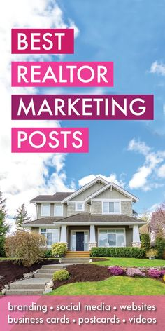 Best Realtor Marketing Posts - You made it! You found all my best Realtor Marketing articles, resources and blog posts! Covering such topics as Realtor websites, social media, business cards, SEO branding, collateral and more! I am a licensed Realtor myself in the state of Florida and work with many Realtors every month, helping to craft a solid marketing strategy that will let them grow their businesses! Realtor Marketing, Real Estate Agent Marketing