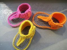 Crochet Pattern for Baby Sandals or Booties by CrochetBabyBoutique